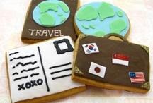 Travel Themed Treats / A vast assortment of travel themed treats...Land, Sea, Ocean, Island Vibe, Nautical..etc etc.  / by passport stamps