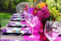 Summer Parties / Cool drinks, grilled food and warm sunshine, it's summertime! Celebrate it right with the best Summer pary / by Creations by Leslie