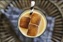 COFFEE (and tea) / aka caffeine and caffeine lite / by Sarah Crowder (punctuated. with food)