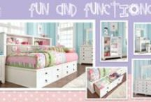 A Place of Their Own / Kids need a place to call their own, here are some bedroom ideas to help you, help them create their perfect room.  / by Ashley Furniture HomeStore