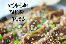 Korean recipes / Korean food recipes  / by Jenny Madrigal
