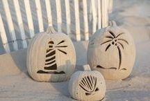All Hallows' Eve / Coastal Halloween  / by Dana (CereusArt Coastal Decor)