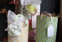 Gift Wrap Ideas / Gift wrapping inspiration and ideas. / by Elli