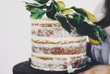 Cake / Obsessed. Completely.   Currently loving: angel cakes, quirky naked cakes, herbs in cakes, mini cakes. / by Celia Lacy