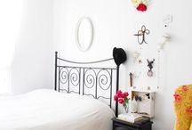 Guest Bedroom / The guest bedroom is a blank canvas. I don't want another white room, but equally it needs to be kept fairly neutral in line with the rest of our house...perhaps we can accessorise it up with some rustic country touches... / by Celia Lacy