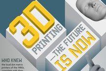 3D Printing / El nuevo panorama de la impresión en 3D / by Bartolomé Borrego Zabala