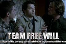 Team Free Will aka Supernatural Board / This isn't devil worship. This is....I don't have a word for that this is. / by Caitlin Davis