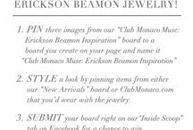Club Monaco Muse: Erickson Beamon Inspiration / by Natasha Rao