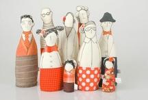 | artistas | Art dolls | / by Cris Monteiro