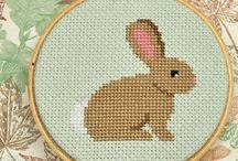 cross stitch / by Eadie Sweezy