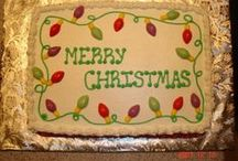 ~Cakes-Christmas~ / by Kaylee Walker