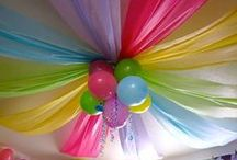 Birthday Inspirations / Birthday Party Ideas for;-  Themes Decorations Food Cakes  & MORE   / by Mrs Hazer