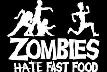 ZOMBIES ATE MY BRAINS !!!!!! / All things Zombie !!!! / by Wendy Lewis