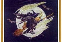 Halloween Cross Stitch / by Stitch and Frog Cross Stitch