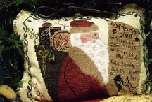 Santa Cross Stitch / by Stitch and Frog Cross Stitch