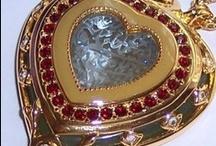 Elizabeth Taylor Jewelry for Avon / by Stitch and Frog Cross Stitch
