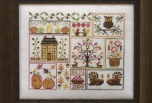 Autumn Cross Stitch Patterns / by Stitch and Frog Cross Stitch