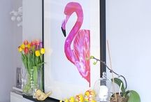 Flamingos / by Kylie Brooks
