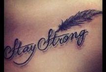 lovin' these tattoos! / by Lynn Espinoza