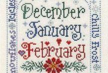 Winter Cross Stitch / by Stitch and Frog Cross Stitch