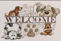 New Cross Stitch for February 2014 / by Stitch and Frog Cross Stitch