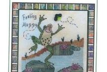 2014 Cross Stitch Releases / New cross stitch for the April 2014! / by Stitch and Frog Cross Stitch