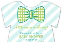 Little Man Baby Shower / Celebrate the future little man in a big way! Bow ties, mustaches and adorable stripes will make for the perfect baby shower for the little mister!  / by Polka Dot Design