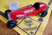 BSA: Pinewood Derby / Pinwood Derby is a great father and son bonding project. It teaches tool safety, creativity and it's also important to teach sportsmanship. Remember your oath, follow the rules and have fun! / by Danny Pedelaborde