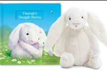 My Snuggle Bunny / An adorable snuggle bunny counts 10 ways that it loves your child, in this beautifully illustrated storybook.  Available at http://www.iseeme.com/. / by I See Me! Personalized Children's Books