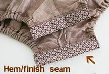 SEWING,HOW-TO'S / by Sonia Lopez