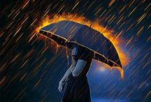 LET IT RAIN / by Betty & Gary