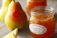 Jams, Jellys, marmalades, chutneys, pickles / by Patty Price / Patty's Food