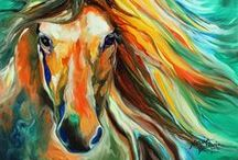 Acrylic Painting Projects / by Nanette Bratton