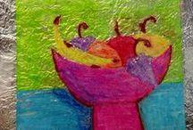 5th Grade-Art Projects / by Nanette Bratton