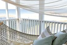 outdoor living / Schöne (überdachte) #Sitzplätze draussen /  im #Garten. #Terrasse #Veranda #Balkon #Loggia #outdoor #living #outside #garden #sitting #terrace #balcon #chilling #relaxing #summer  / by Pamela Bechler