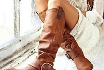 These Boots Are Made For Walkin'!! / by Angela Casey