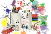 *** creativity *** / Mein Stimmungsboard für Kreativität. This is my moodboard for #creativity #Kreativitaet  #DIY #crafts #inspiration / by Pamela Bechler