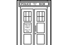 Digis, Line Art - Dr Who / by LyLo SmiNap