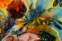 Flower art / by Pauleen Kite
