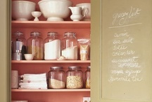 Killer Ideas for Walk-In Pantries / by Keesia Wirt