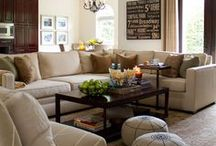 Family room... ideas, wishes, wants... / Family room, lounge room / by Justine Barker