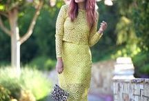 Y is for Yellow / See how to wear all the hottest Spring/Summer 2014 trends in the Sydne Style A-Z Trend Guide http://www.sydnestyle.com/a-z-trend-guide/ #sstrendguide / by Sydne Summer