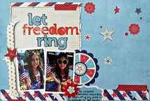 Let Freedom Ring:Scrapbook Circle Limited Edition Kit / by Scrapbook Circle