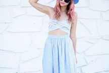 C is for Crop Tops / See how to wear all the hottest Spring/Summer 2014 trends in the Sydne Style A-Z Trend Guide   http://www.sydnestyle.com/a-z-trend-guide/  #sstrendguide / by Sydne Summer