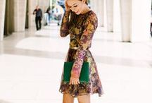 D is for Dark Florals / See how to wear all the hottest Fall/Winter 2014 trends in the Sydne Style A-Z Trend Guide http://www.sydnestyle.com/2014/09/fall-trend-guide/ #sstrendguide / by Sydne Summer