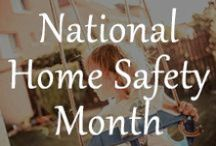 National Home Safety Month / Home Safety Tips for Your Home. For more information on a monitored home security system, give us a call at #1-877-249-8727! / by Protect Your Home