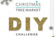 Christmas Tree Market's DIY Challenge / Show us your inspiration for decorating your Christmas tree with DIY ornaments! Get a chance to win a $250 Gift Card for your perfect Christmas tree! Join here: http://ow.ly/Ex707  / by Christmas Tree Market