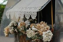 ToPPinG iT Off... / bed crowns, hoods, arch. salvage, valances, curtains, diy / by SHaBbY StOrY