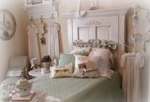 SwEeT DrEaMs... / beds, vintage, shabby, white, old headboards, canopy / by SHaBbY StOrY