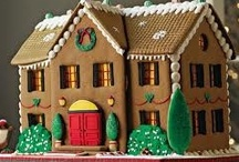 Food - Gingerbread House / by Lia Huem